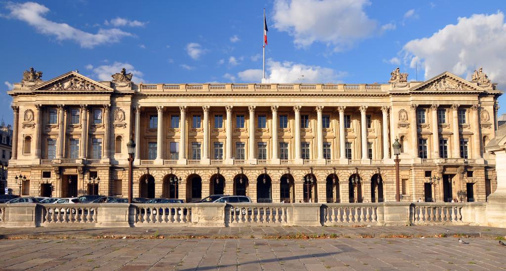 Hôtel de la Marine, à Paris